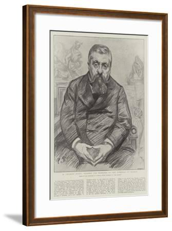 M Charles Dupuy, Premier and Minister of the Interior of France-Charles Paul Renouard-Framed Giclee Print