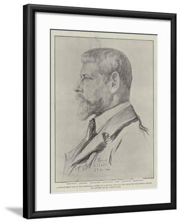 Maitre Labori, Leading Counsel for Captain Dreyfus-Charles Paul Renouard-Framed Giclee Print