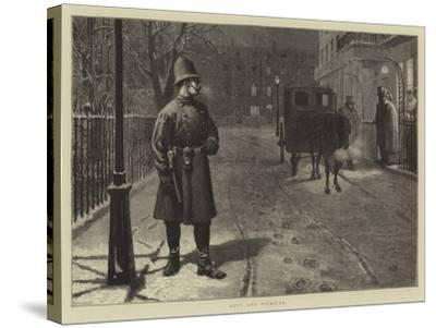 Duty and Pleasure-Charles Green-Stretched Canvas Print