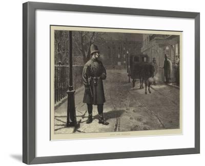 Duty and Pleasure-Charles Green-Framed Giclee Print