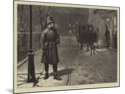 Duty and Pleasure-Charles Green-Mounted Giclee Print