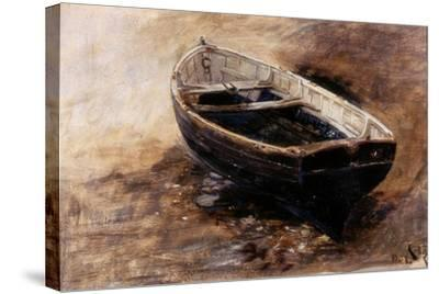 Study of a Dinghy, 1901-Charles Napier Hemy-Stretched Canvas Print