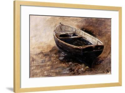 Study of a Dinghy, 1901-Charles Napier Hemy-Framed Giclee Print