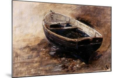 Study of a Dinghy, 1901-Charles Napier Hemy-Mounted Giclee Print