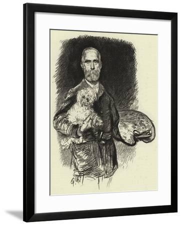 Edwin Long-Charles Paul Renouard-Framed Giclee Print