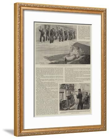 Our Coastguard-Charles Joseph Staniland-Framed Giclee Print