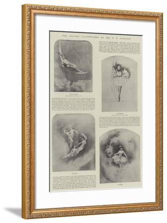 The Ballet-Charles Prosper Sainton-Framed Giclee Print