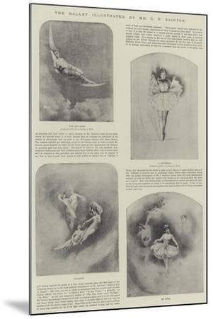 The Ballet-Charles Prosper Sainton-Mounted Giclee Print