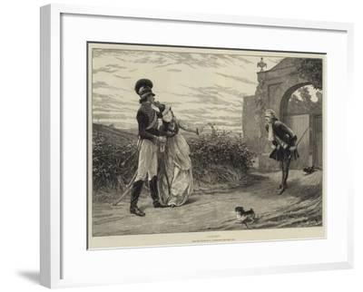 Caught!-Charles Joseph Staniland-Framed Giclee Print