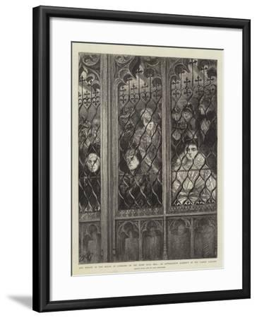 The Debate in the House of Commons on the Home Rule Bill-Charles Paul Renouard-Framed Giclee Print