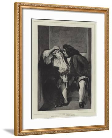 Uncle Toby and Widow Wadman-Charles Robert Leslie-Framed Giclee Print