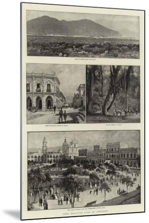 Jabez Balfour's Land of Adoption-Charles Joseph Staniland-Mounted Giclee Print