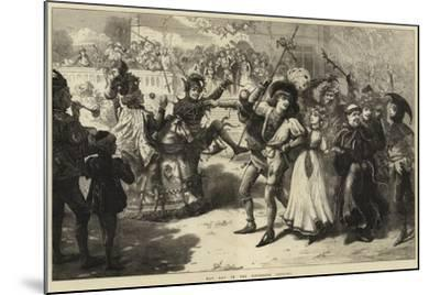 May Day in the Fifteenth Century-Charles Joseph Staniland-Mounted Giclee Print