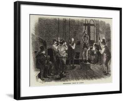 Bell-Ringing-Charles Keene-Framed Giclee Print