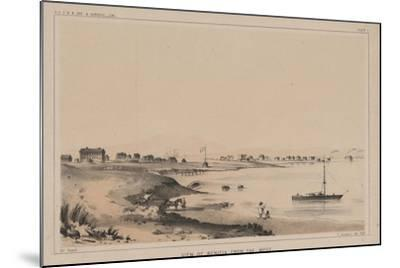 View of Benicia from the West, 1856-Charles Koppel-Mounted Giclee Print