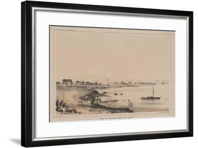 View of Benicia from the West, 1856-Charles Koppel-Framed Giclee Print