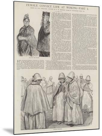 Female Convict Life at Woking-Charles Paul Renouard-Mounted Giclee Print
