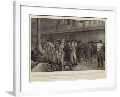The Centenary of the Smithfield Club Cattle Show, 1798-1897-Charles Green-Framed Giclee Print