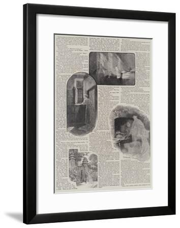 How We Discovered a Haunted House-Charles Joseph Staniland-Framed Giclee Print
