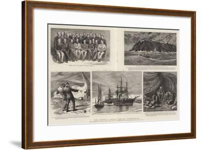 The Greely Arctic Relief Expedition-Charles William Wyllie-Framed Giclee Print