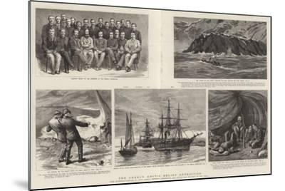 The Greely Arctic Relief Expedition-Charles William Wyllie-Mounted Giclee Print