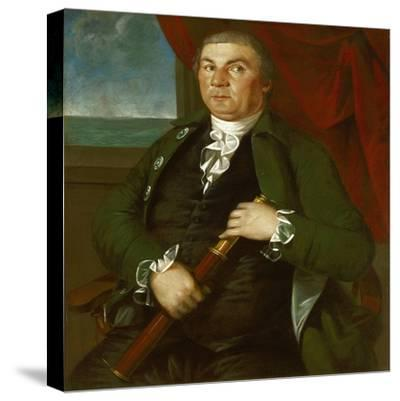 Captain David Coats, C.1775-Christian Gullager-Stretched Canvas Print