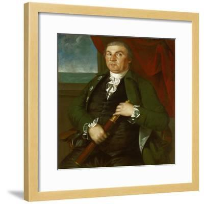 Captain David Coats, C.1775-Christian Gullager-Framed Giclee Print