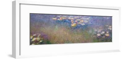 Water Lilies, C.1915-26-Claude Monet-Framed Giclee Print