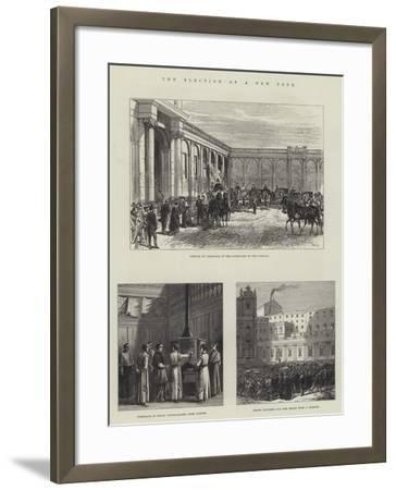The Election of a New Pope-Charles Robinson-Framed Giclee Print