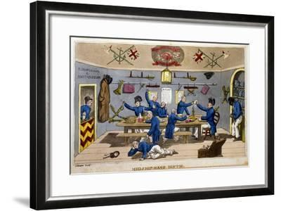 Midshipman's Berth-Charles Williams-Framed Giclee Print