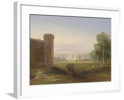 Government House and Stables, Sydney, 1841-Conrad Martens-Framed Giclee Print