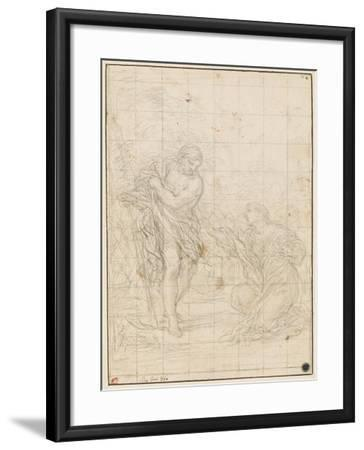 Christ Appearing to Mary Magdalene-Ciro Ferri-Framed Giclee Print