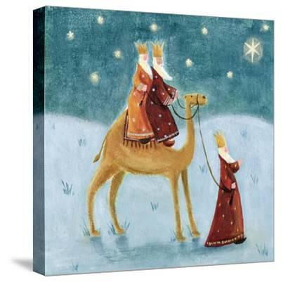We Three Kings, 2002-Clare Alderson-Stretched Canvas Print