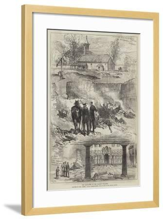 The Massacres in the Balkan Villages-Charles Robinson-Framed Giclee Print