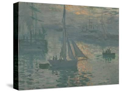 Sunrise (Marine), 1873-Claude Monet-Stretched Canvas Print