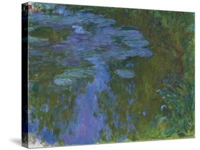 Nympheas, C. 1914-1917-Claude Monet-Stretched Canvas Print