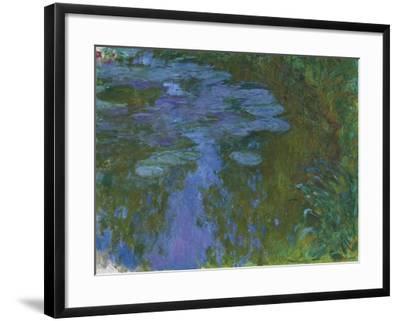 Nympheas, C. 1914-1917-Claude Monet-Framed Giclee Print