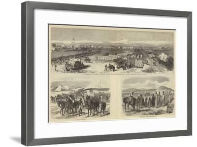 The Expedition to Abyssinia-Charles Robinson-Framed Giclee Print