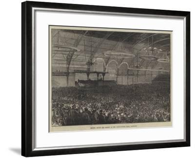 Messers Moody and Sankey at the Agricultural Hall, Islington-Charles Robinson-Framed Giclee Print