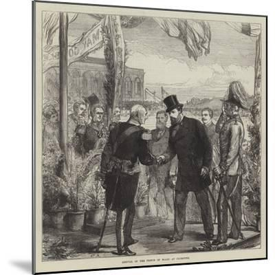 Arrival of the Prince of Wales at Plymouth-Charles Robinson-Mounted Giclee Print
