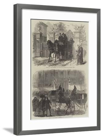 The Funeral of Lord Palmerston-Charles Robinson-Framed Giclee Print