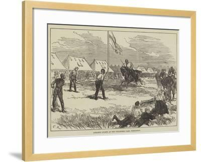 Athletic Sports at the Volunteer Camp, Wimbledon-Charles Robinson-Framed Giclee Print