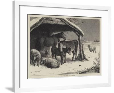 A Christmas Party-Ebenezer Newman Downard-Framed Giclee Print