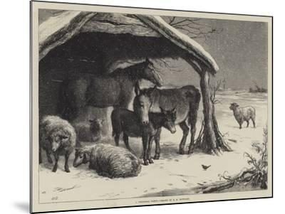 A Christmas Party-Ebenezer Newman Downard-Mounted Giclee Print