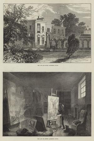 Landseer's House-Ebenezer Newman Downard-Stretched Canvas Print