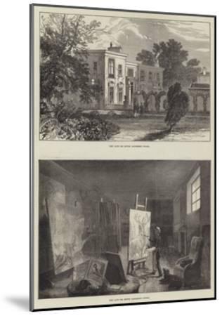 Landseer's House-Ebenezer Newman Downard-Mounted Giclee Print