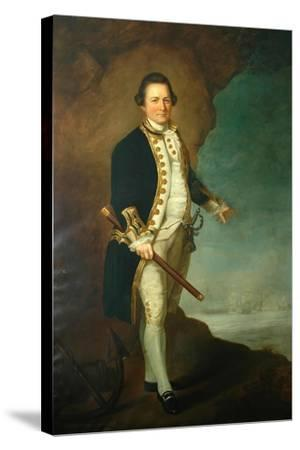 Captain Wood of Bolling Hall, 1770-Dominic Serres-Stretched Canvas Print