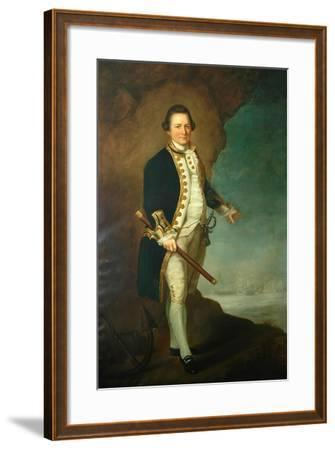 Captain Wood of Bolling Hall, 1770-Dominic Serres-Framed Giclee Print