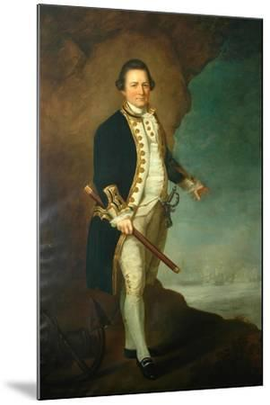 Captain Wood of Bolling Hall, 1770-Dominic Serres-Mounted Giclee Print