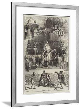 Christmas Entertainments-David Henry Friston-Framed Giclee Print